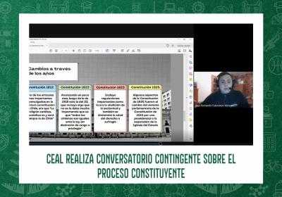 CEAL REALIZA CONVERSATORIO CONTINGENTE SOBRE EL PROCESO CONSTITUYENTE