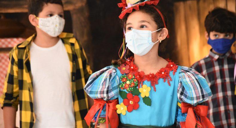 Alegria e diversão marcam comemoração junina no Arraiá Cultural 2021
