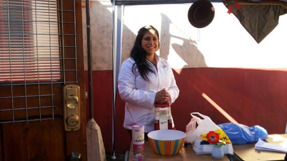 Profesora de reforzamiento académico: Olga Rivas....