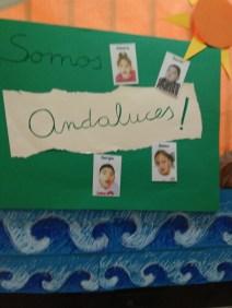 Con motivo del día de Andalucía decoramos las puertas de las aulas