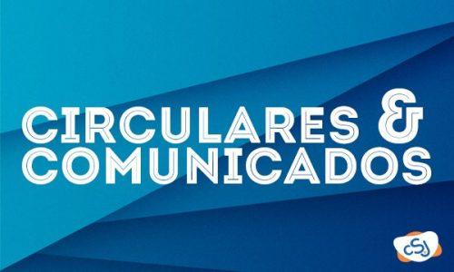 Comunicados e Circulares