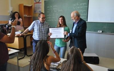 Una alumna de nuestro colegio de Valencia becada para estudiar un año en Estados Unidos