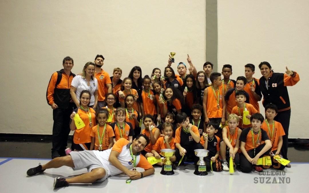 Colégio Suzano – Campeão Sub12 e Vice-Campeão Sub10 da Copa MM de queimada