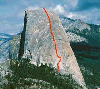 Snake Dike. Half Dome. Yosemite