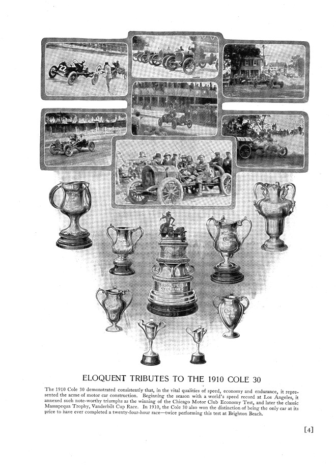 Cole Racing Trophy's