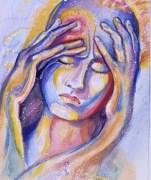 Tension headache art