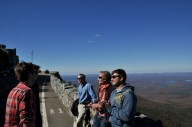Robin, Charlie, and our guide to Whiteface Mountain.