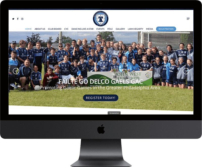 Delco Gaels Featured Site