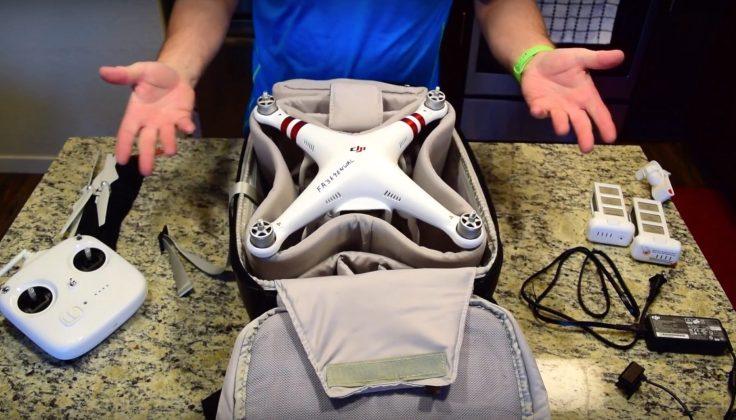 DJI Phantom Multifunctional Backpack Review