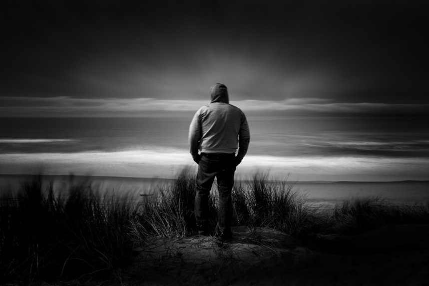 The Lone Man Cole Thompson Photography