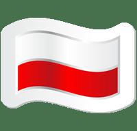 Znalezione obrazy dla zapytania ikonka flagi Polski