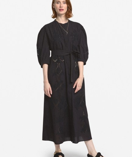 Broderie nero dress Ottod'Ame
