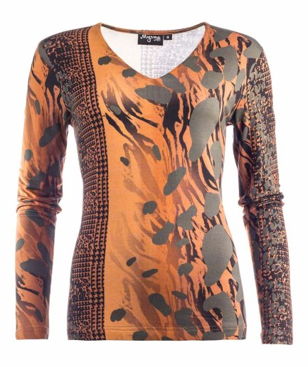 Janna LS Green City Panther Top Myrna by NED