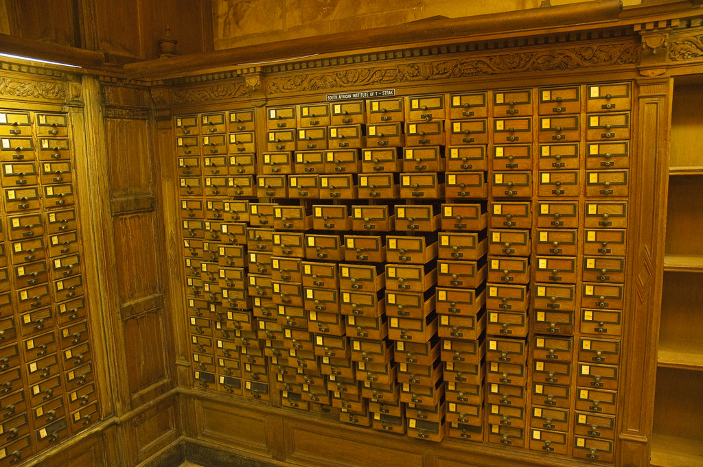 Card Catalog Art by Eric Wooton