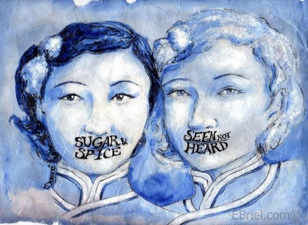 Blue Girls by Elizabeth Briel