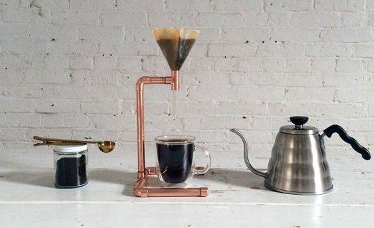 Home Made Pour Over Coffee Set