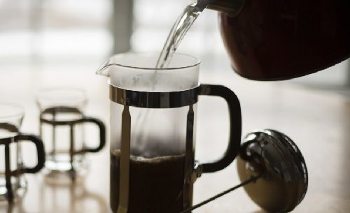 French Press in Action