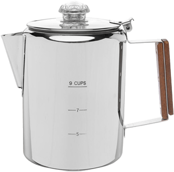 9 CUP STAINLESS STEEL