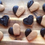 Carob-Covered Coffee Cookies by Coletti