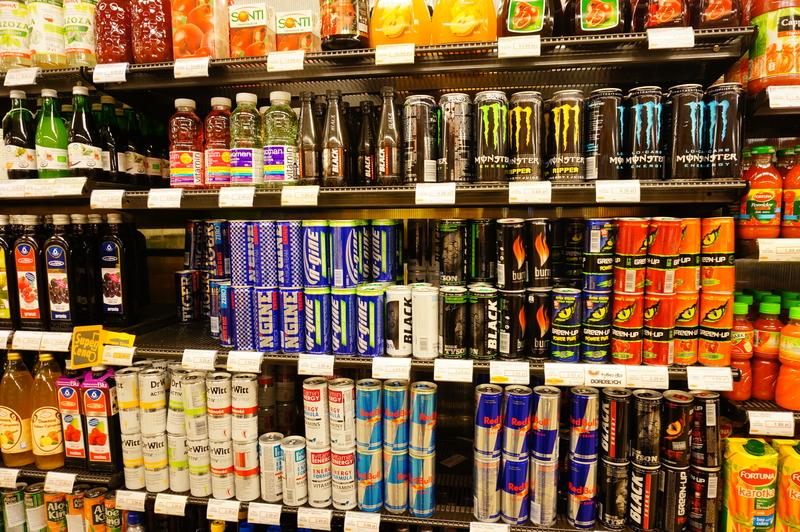 coffee vs. energy drinks