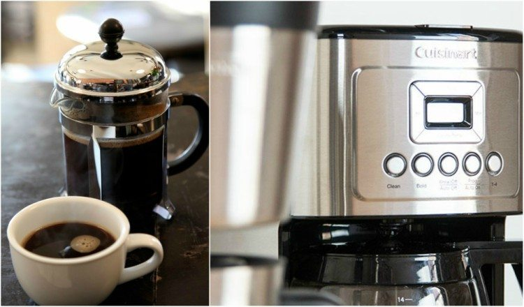 French press vs. Drip Brewer