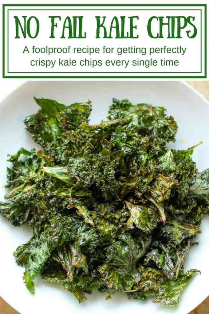 NO FAIL KALE CHIPS | A foolproof recipe for getting perfectly crispy kale chips every single time | ColeyCooks.com