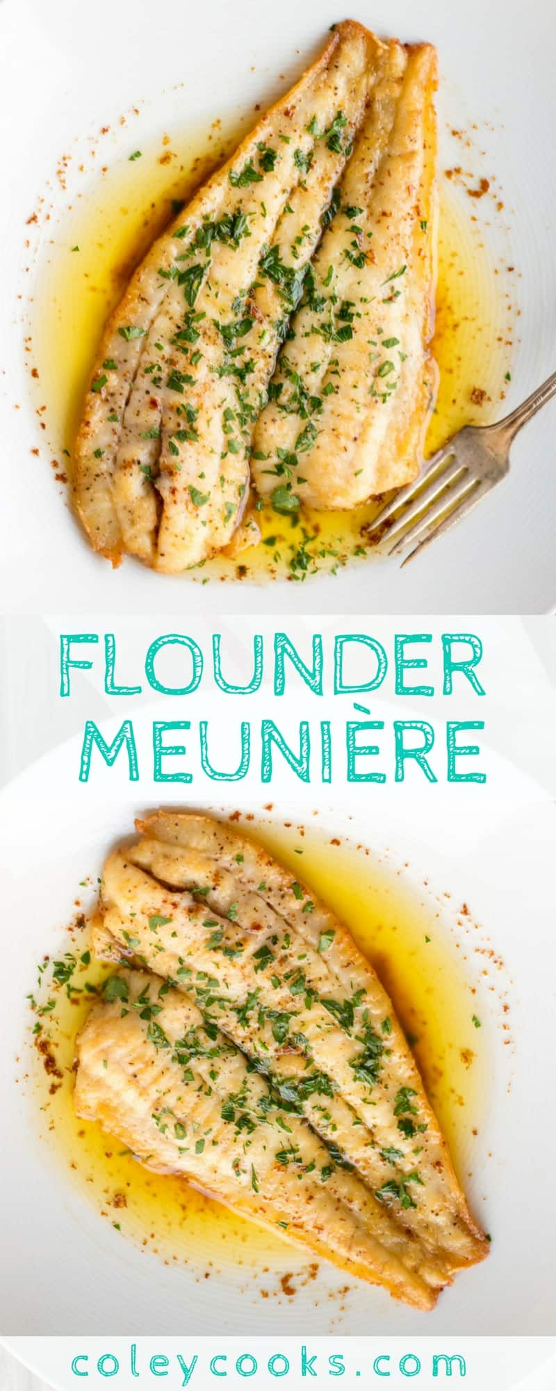 Flounder Meunière Video Coley Cooks