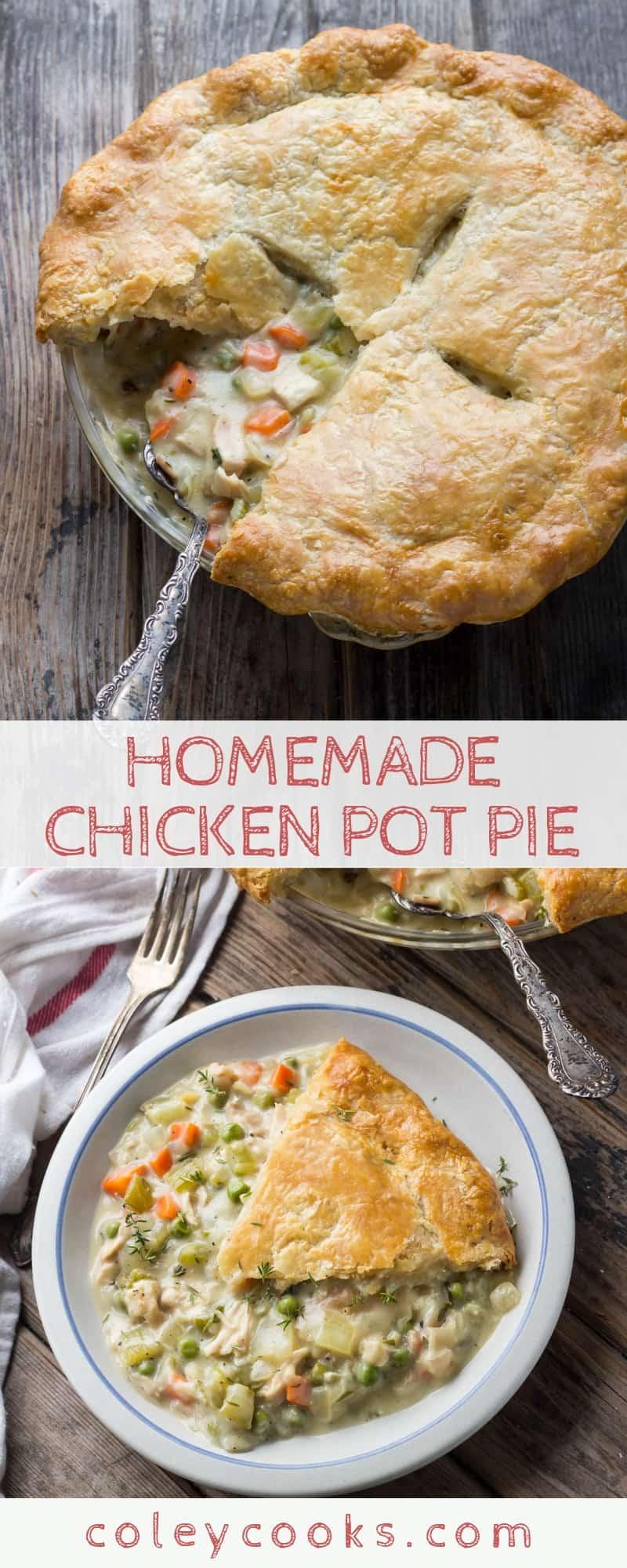 Chicken Pot Pie Coley Cooks