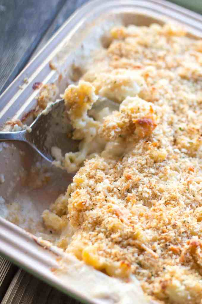 Cauliflower Mac 'n Cheese