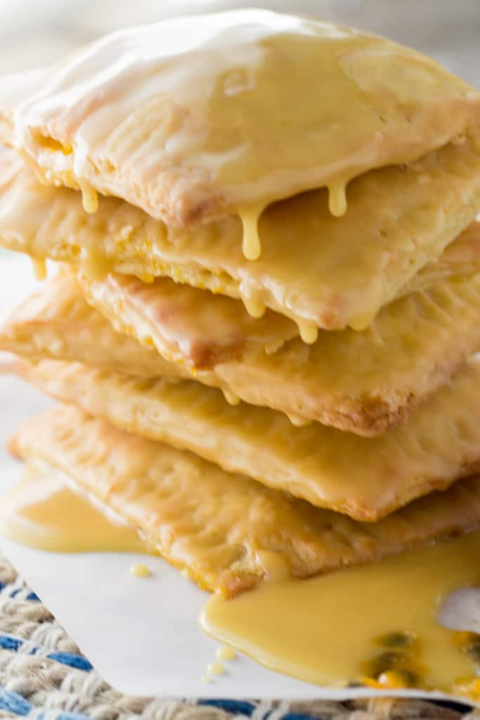 Passion Fruit Pop Tarts