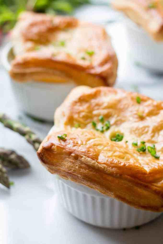 Spring Chicken Pot Pie
