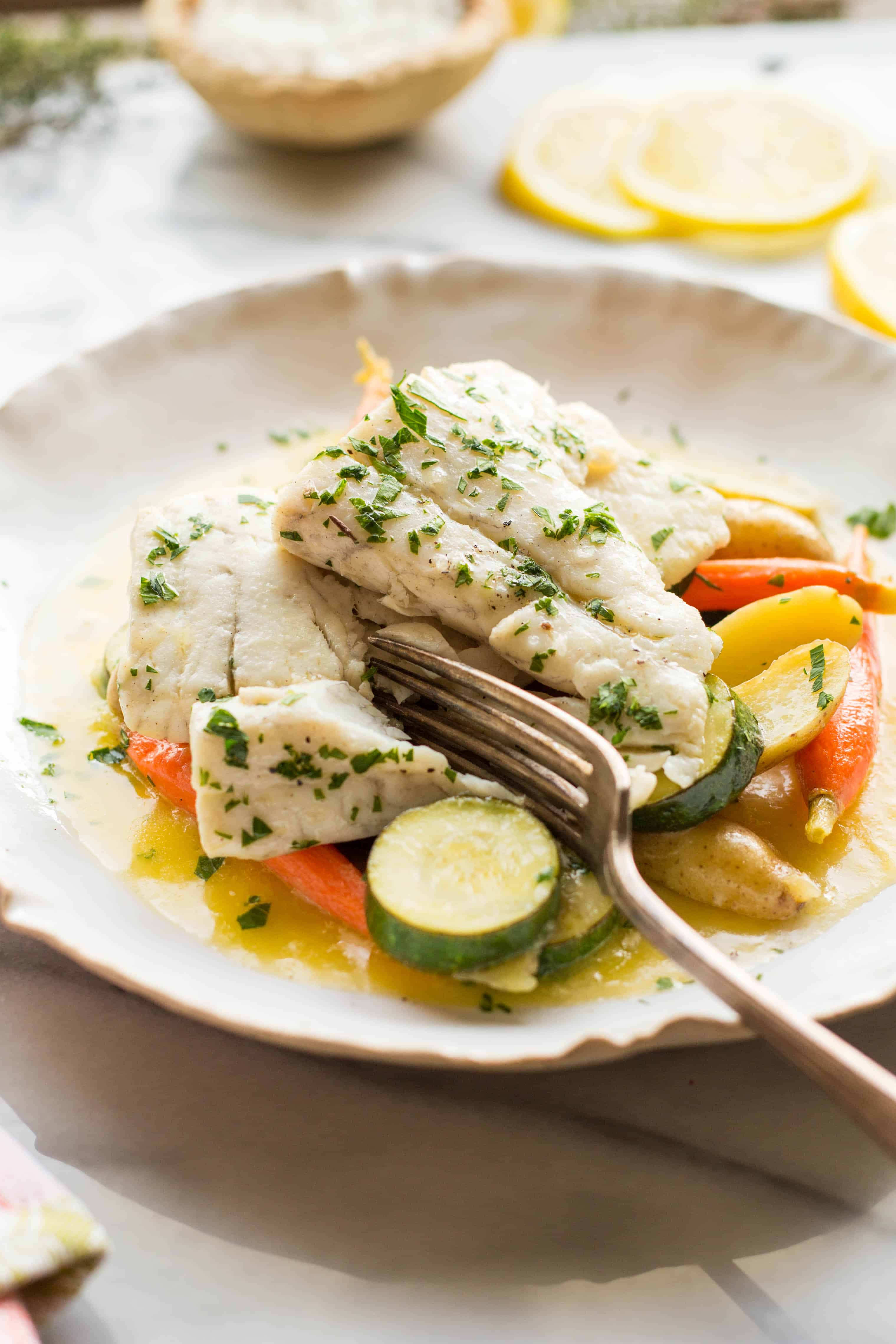 Butter Poached Fish (Video!)