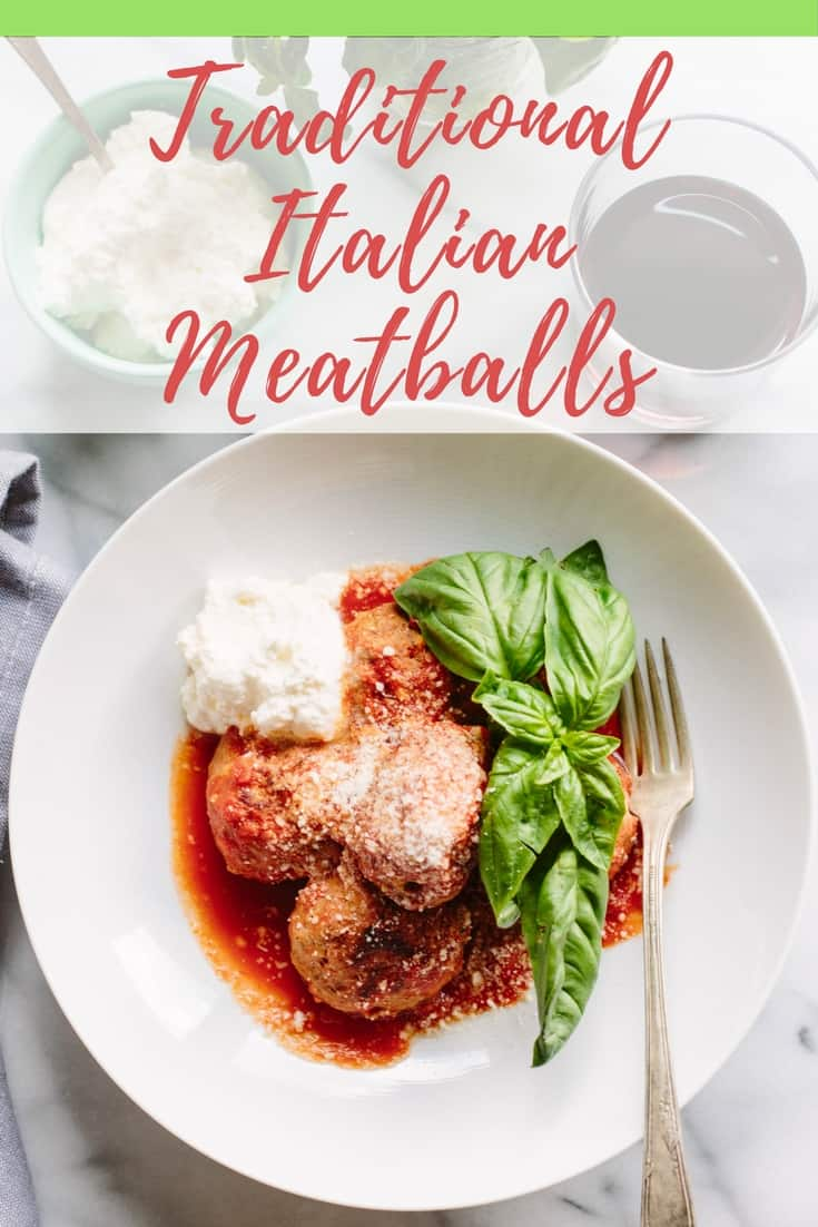 The Best Ever Traditional Italian Meatballs (Video!) | ColeyCooks.com
