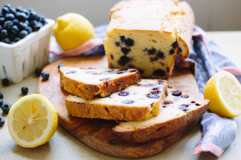 Lemon Blueberry Pound Cake | ColeyCooks.com