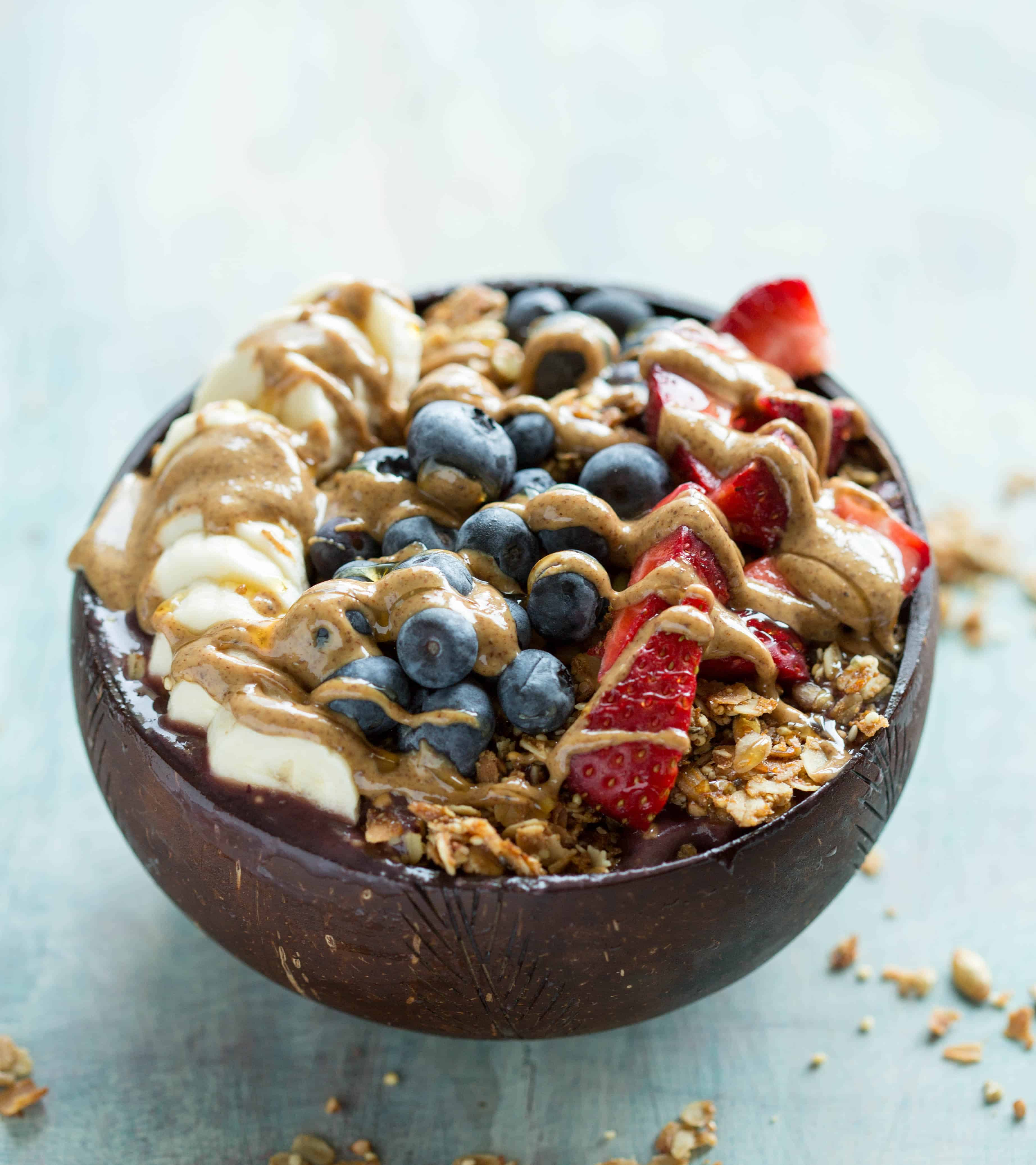 The Art of the Smoothie Bowl by Nicole Gaffney - Stealthy Healthy Acai Bowl