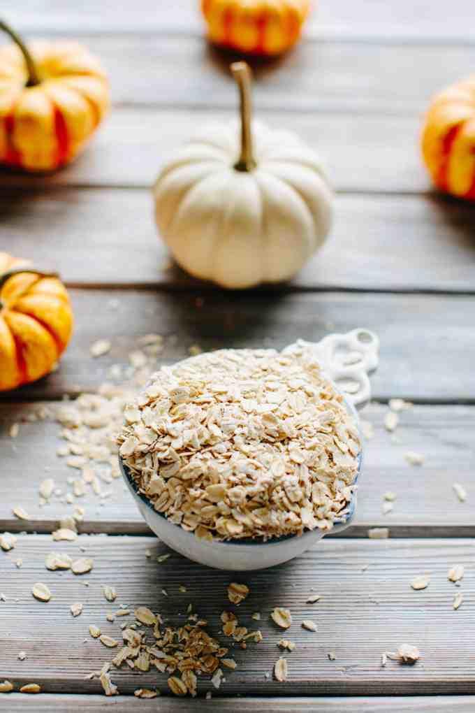 oats and pumpkin