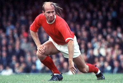 Bobby Charlton el zurdo de los mil perfiles.