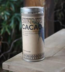 ceremonial grade drinking cacao