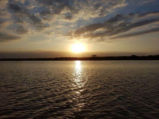 estuary-sunset