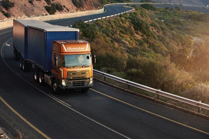 UD Trucks New Quester