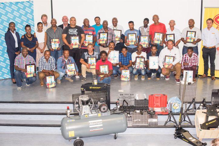 2.Filpro enterprise development programme awards function celebrates township automotive service centre owners & motor mechanics success