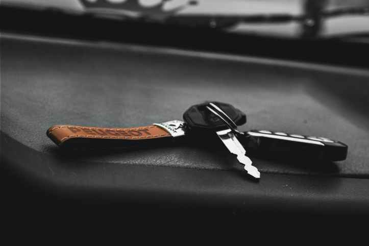 stainless steel car keys