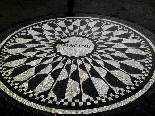 John Lennon dedicated Strawberry Fields section of Central Park