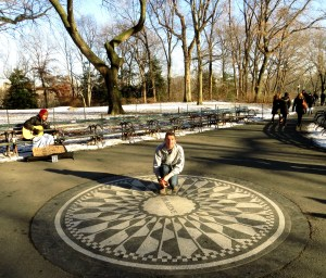 Imagine Central Park John Lennon