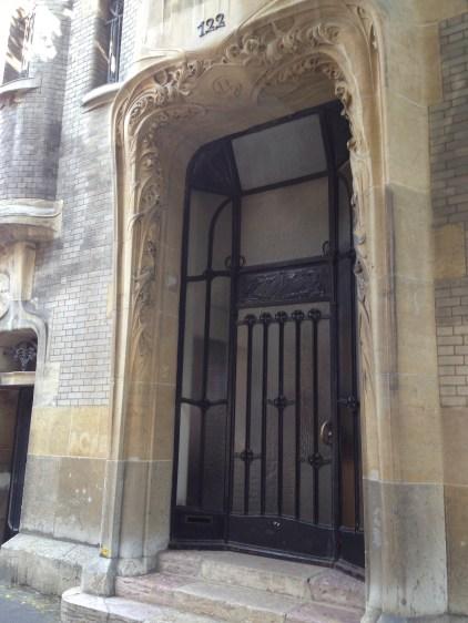 Art Nouveau entrance,by Hector Guimard