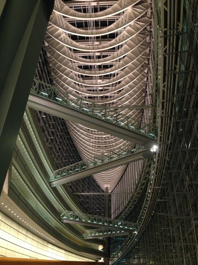 the airship has landed, Tokyo International Forum