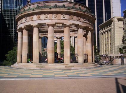 Brisbane Memorial courtesy Figaro