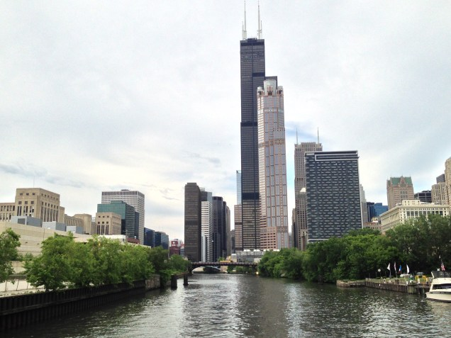 the Willis Tower, Chicago