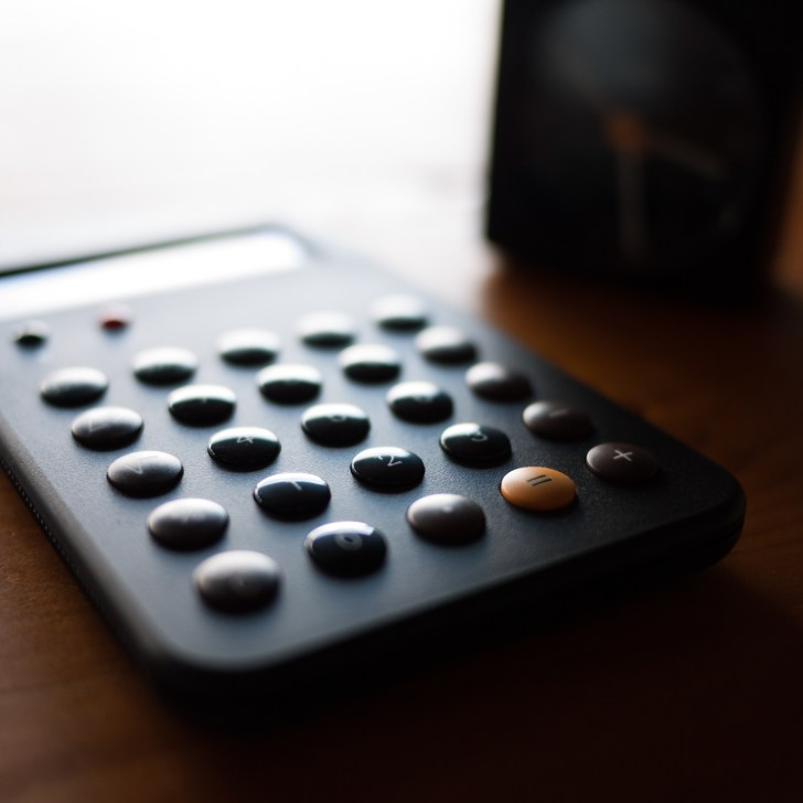 Braun calculator (Flickr: Peter