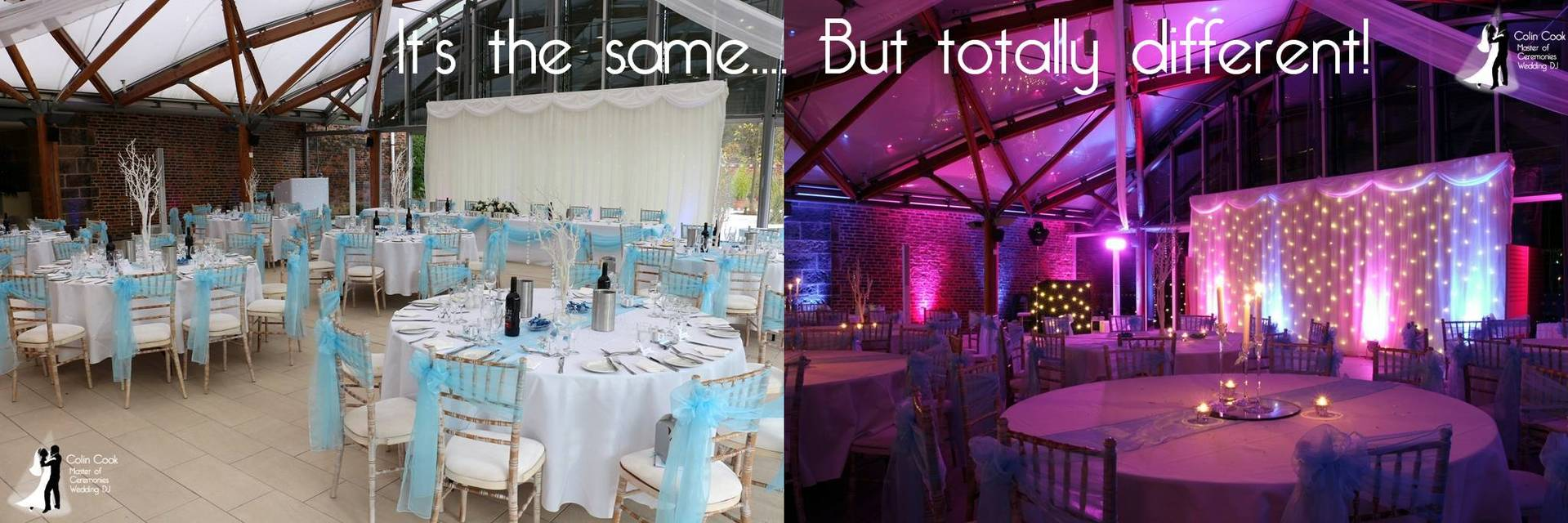 Alnwick Garden Pavilion during the Day and at Night showing a real WOW factor